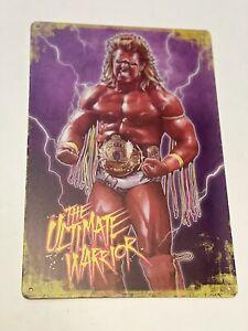 ultimate warrior Metal poster World champion Wing Eagle Hasbro Elite Wwe Wwf Ljn