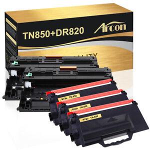 Compatible for Brother 3×TN850 Toner+2×DR820 MFC-L5800DW MFC-L6700DW HL-L5000D