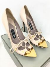 a094af5681ba Tom Ford Sandal High Heels - Suede Pink Gold - IT 40 EU 40