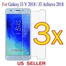 3x Clear Screen Protector Guard Film Samsung Galaxy J3 V 2018 / J3 Achieve 2018