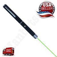 High Power Green Laser Pointer Pen Beam Light 5mw Lazer 532nm USA Fast Ship