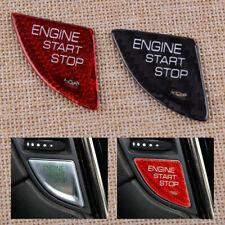 Carbon Fiber Engine Start Stop Switch Button Cover para Cadillac ATS 2013-2019
