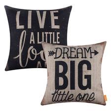 Retro Words Quotes Throw Cushion Cover Pillow Case Home Sofa Car Decor Dream Big