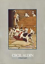 "JACK RUSSELL PARSON FOX HUNT TERRIER DOG ART PRINT - Cecil Aldin ""A Quick Lunch"""