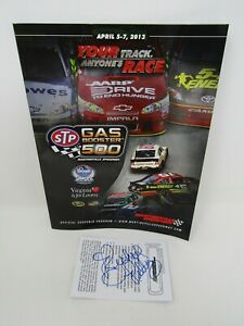 SIGNED AUTOGRAPHED NASCAR RICHARD PETTY MARTINSVILLE RACE TICKET + ORIGINAL RACE