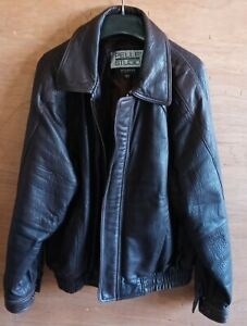 WILSONS THE LEATHER EXPERTS BROWN LEATHER JACKET Size Large