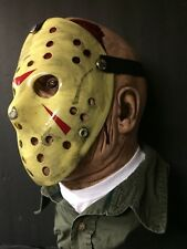 Jason Voorhees Part 3 Hockey Mask, Accurate Paint Job! Friday The 13th
