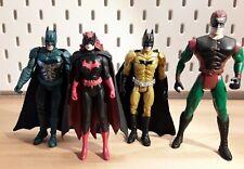 4 Stück Batman Batgirl Robin Action Figur Mattel / Kenner