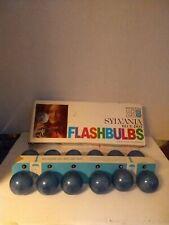Sylvania Blue Dot Press 25B Flashbulbs Box of 12