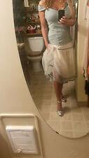 """NWT Mais il est ou le soleil Embroidered """"CHARM"""" Petticoat Skirt M"""