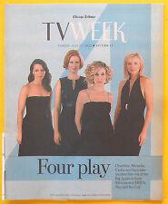 Sarah Jessica Parker SEX AND THE CITY Chicago Tribune TV Week guide Jul 21 2002