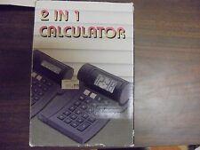 2 In 1 Calculator 8 Digits