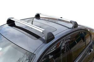 Aerodynamic Roof Rack Cross Bar for Mercedes-Benz C Class W204 07-13 Flush End