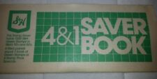 S&H GREEN STAMPS SAVER BOOKLET