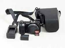 Sony NEX-6 16.1MP Mirrorless Digital Camera Body ONLY 2K SHUTTER COUNT 32gb