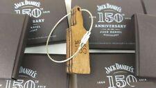 JACK DANIELS Old No.7 Schlüsselanhänger Flasche Holz Echtholz Glas Shirt 150th