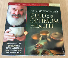 Dr Andrew Weil - GUIDE TO OPTIMUM HEALTH - 8 CDs - A Complete Course - BRAND NEW