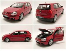 WELLY 1:18 AUTO DIE CAST VW GOLF V SERIE  2005  ROSSA   ART.12548