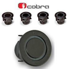 Cobra R0194 4 Way Car Reversing Parking Sensor Kit 25mm black A0158