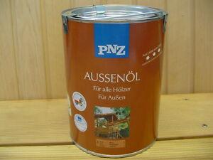 PNZ Aussen-Öl LÄRCHE Nr. 3 - 2,5 Liter - Holzschutz NEU Lasur Holzlasur