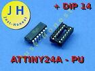 ATTINY 24 A - PUmit/ohne DIP14 Sockel/Socket Mikrocontroller,  AVR