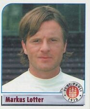 N°184 MARKUS LOTTER # DEUTSCHLAND FC.ST PAULI STICKER PANINI BUNDESLIGA 2002
