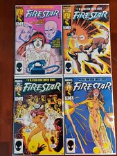 Marvel Comics Firestar #1-4 Full Series Comic Book Lot