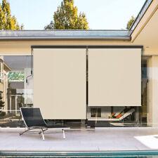 Alu Senkrechtmarkise für Balkon Terrasse 140 / 160 x 250 cm Vertikalmarkise