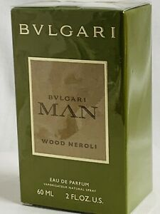 Bvlgari Man Wood Neroli by Bvlgari EDP Cologne for Men 2 oz New in Box