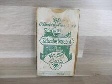 Alte ASS - Sächsisches Doppelbild Nr. 50 - 32  Blatt spielkarten