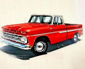 """18"""" Classic chevy c10 truck Classic oil gas station company Front End USA STEEL"""