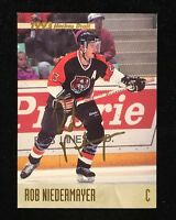 ROB NIEDERMAYER 1993 CLASSIC AUTOGRAPHED SIGNED AUTO HOCKEY NHL CARD PANTHERS