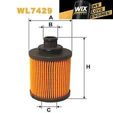 1x FILTRO DE ACEITE WIX wl7429 - equivale a Fram ch10047eco