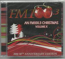 An FM 100.3 Christmas Volume X- ANNIVERSARY EDITION Utah 2010-CD (New- Sealed)