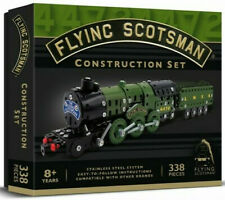 Demand 1262 Flying Scotsman Drilled Metal Construction Set (Meccano Style)