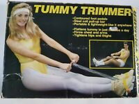 Vintage Lightweight Resistance Tummy Trainer Work Out fitness exerciser cardio