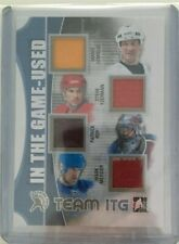 2013-14 In the Game-Used: Team ITG Gold - Steve Yzerman