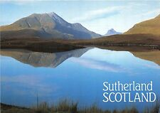 BT18248 the quiet waters if this raod side sutherland  scotalnd