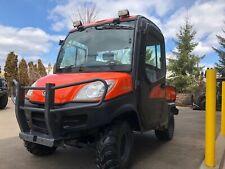 New listing Kubota Rtv1100 4X4 Diesel,Cab, Ac,Heater,Fully Hydraulic Plow