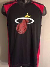 9f498ebe794 LeBron James #6 Miami Heat NBA Basketball Adidas Mens Small S Sleeveless T- Shirt