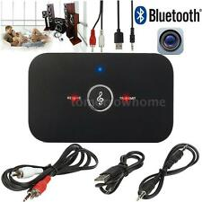 Bluetooth 4.1 Transmitter and Receiver Stereo Audio 3.5mm Adapter Music USB L2S5