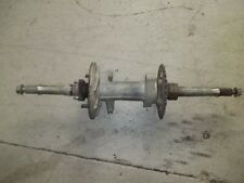 1994 YAMAHA BREEZE 125 REAR AXLE WITH BEARING CARRIER