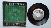 Ref607 Vinyle 45 Tours Chris De Burgh High On Emotion