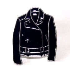 NEW QUALITY BIKER LEATHER JACKET ROCKER METAL ENAMEL PIN BADGE BUTTON PUNK HEAVY