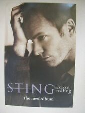 Sting Promo Poster and a Handbill Police The