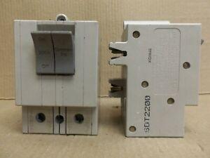 Square D Trilliant SDT SDT2200 200 Amp 2 Pole 240 V Circuit Breaker Flawed