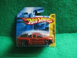 HOT WHEELS CHEVY SILVERADO (LOT M5) CAR MINT CARD OPENED