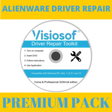 PREMIUM ALIENWARE Windows Driver Software Repair Restore Win 10 8.1 8 7 Vista XP
