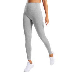 Ladies Casual Gym Sports High Waist Yoga Slim Fit Pants Fitness Legging Trousers