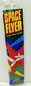 SPACE FLYER Balsa Foam Glider Plane Model Airplane Kit North Pacific Comet #200